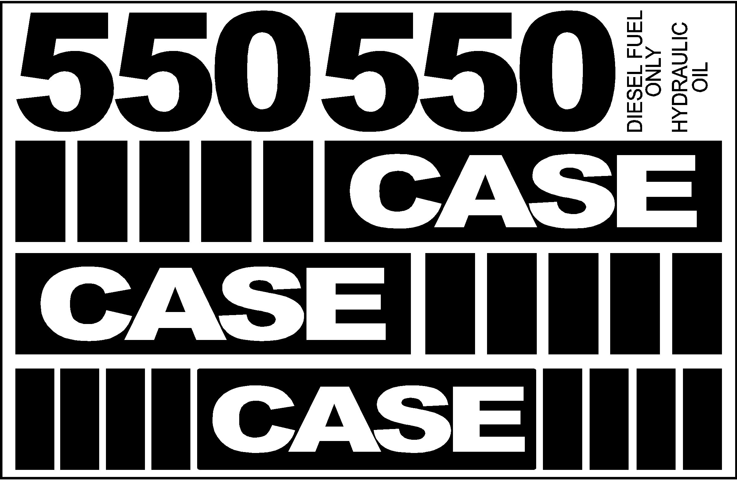 7250 Case Decal Kits : Case dozer new replacement decal kit