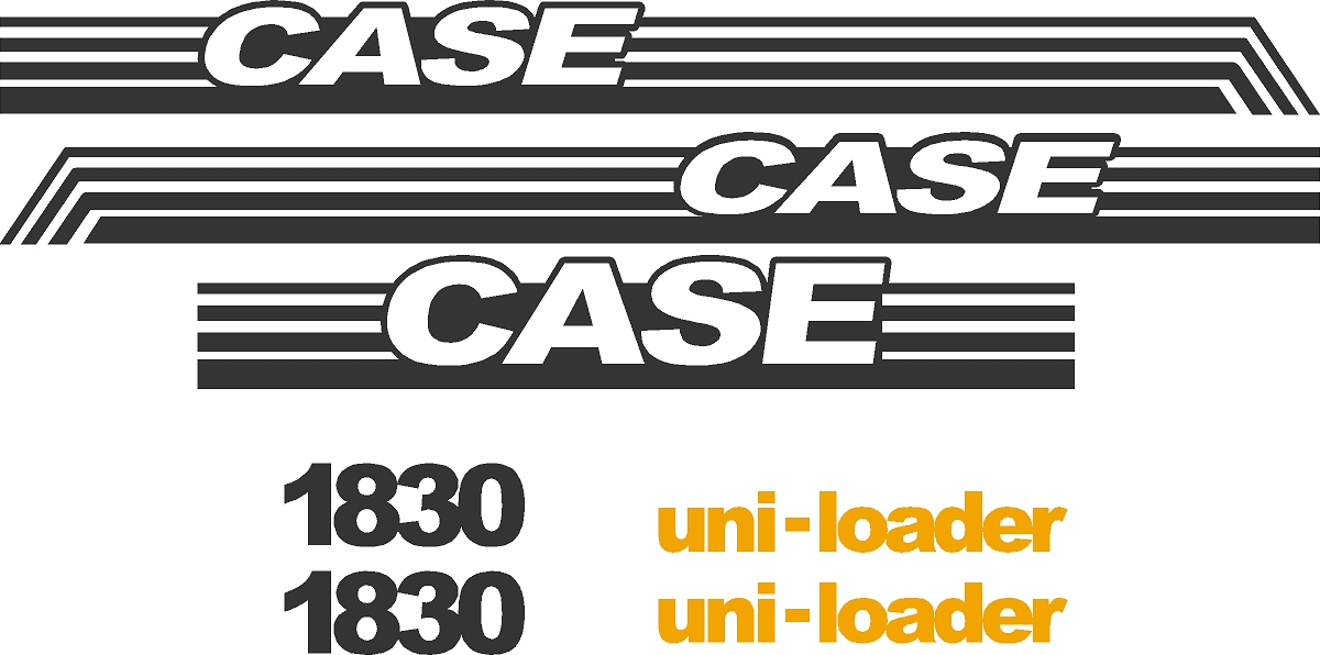 7250 Case Decal Kits : Case skid loader new replacement decal sticker kit ns